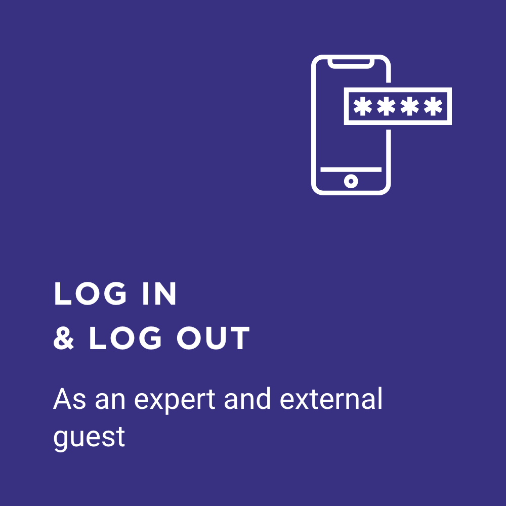 FAQ login icon