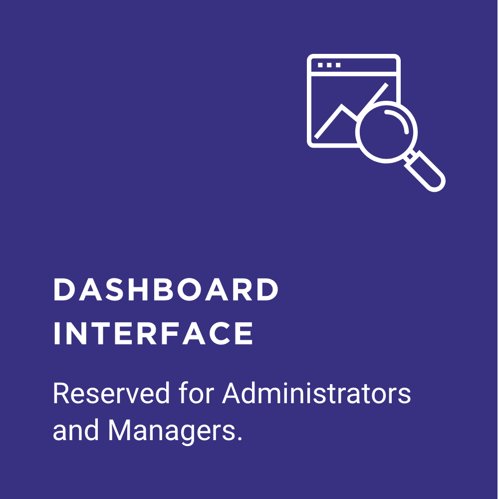 FAQ dashboard interfaces logo